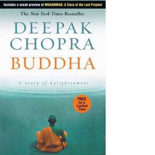 Buddha: A Story of Enlightenment by Deepak Chopra