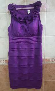 Violet cocktail dress US8