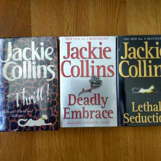 3for$10 Jackie collins good condition