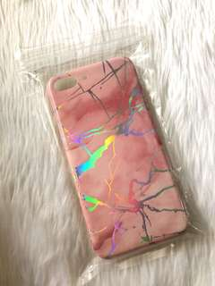 Pink Marble iPhone 7/8 Plus phone case