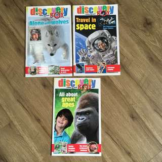 Discovery Box Magazines - 3 Titles