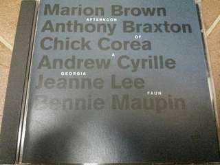 Music CD: Marion Brown ‎– Afternoon Of A Georgia Faun - ECM Records - Free Jazz