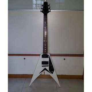 CLEARANCE SALE Flying V Electric Guitar with FREE Guitar Bag