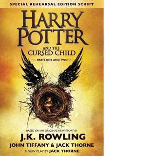 Harry Potter and the Cursed Child - Parts One and Two (Harry Potter #8) by John Tiffany