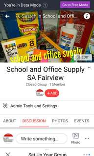 LP reseller of school and office supply
