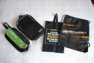 To bless - 2 shoe bags, 2 sling bags