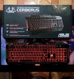 Asus Cerberus Usb Gaming Keyboard