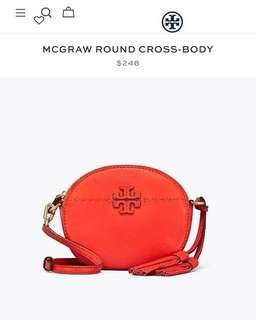 Tory Burch mcgraw round crossbody 4️⃣colours