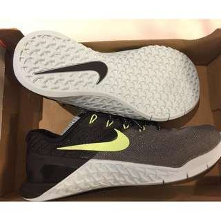 Nike LEGIT womens Metcon 3 black running training shoes sneakers US 5.5 BNEW SRP P6,745