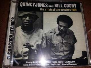 Music CD: Quincy JonesAndBill Cosby–The Original Jam Sessions 1969 - Jazz Funk, Rhythm & Blues