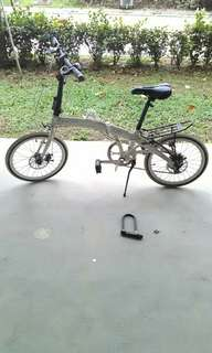Foldable bicycle (KALAQ Q5)