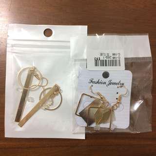 🚚 耳環2個一起便宜賣