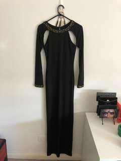 Black evening dress new with tags