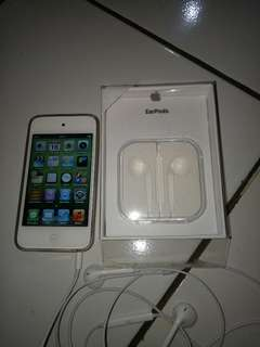 Ipod 4 touch mulus headset ori 8Gb