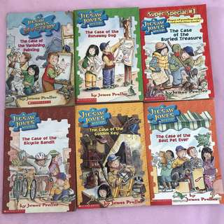 Scholastic Detective Story A Jig Jones Mystery Children Kids Books by James Preller