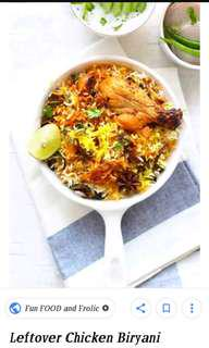 Authentic Indian Biryani