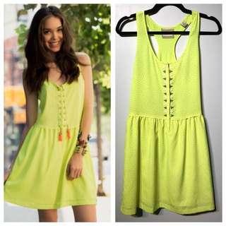 MAISON SCOTCH Neon Summer Dress - XS