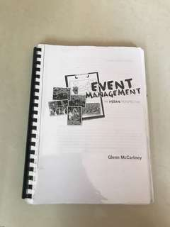 Event Management and F&B textbook