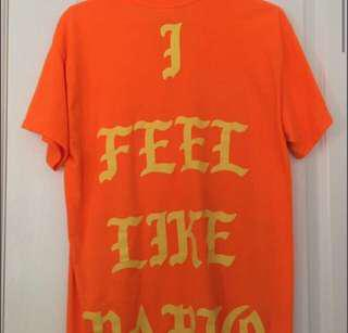 Kayne West I Feel Like Pablo Shirt