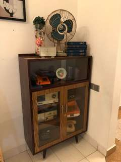 Antique Display Cabinet 1960s