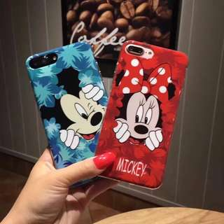 🌼C-1026 Mickey/Minnie IMD Case for iPhone🌼