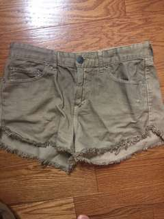 Free people high wasted shorts