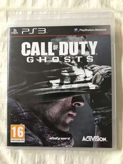 PS3: Call of Duty Ghosts