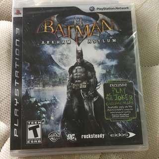 Batman Arkham Asylum Sealed Black Label (PS3 R1)