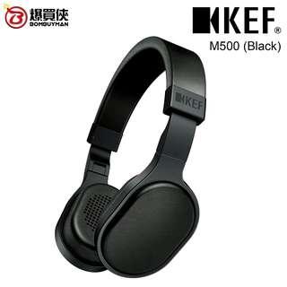 KEF M500頭戴式Hi-Fi耳機 (黑色)