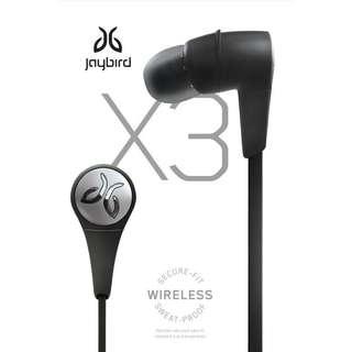 Jaybird X3 (Black)