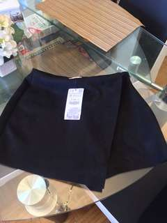 Zara Faux Suede Skort: Reduced Price