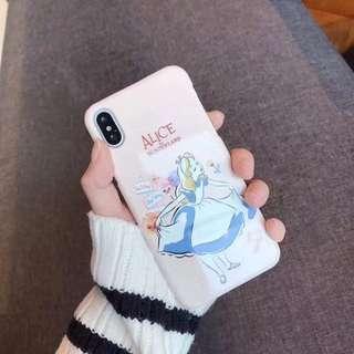 Alice愛麗絲光面硬殻Iphone case👸🏼