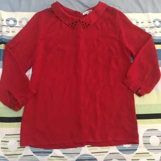 Colorbox Red Blouse