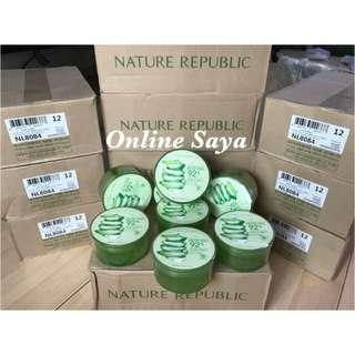 Nature Republic Aloevera gel IMPORT 100% ORIGINAL