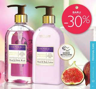 Body lotion & hadsoap