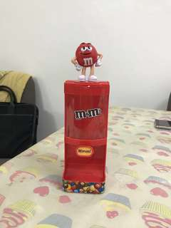 M&M Chocolate Dispenser
