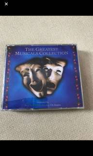Cd box C3 - The Greatest Musicals Collection