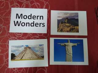 Modern Wonders -  BN Flashcards