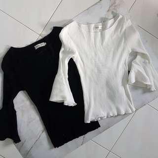 #FreePostage Flare Sleeve Top T Shirt Blouse
