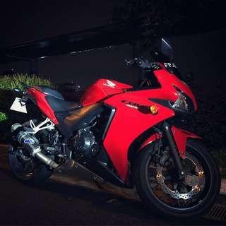 2013 Honda CBR400R (COE 2024)