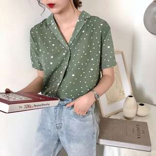 [PO] Dots All Over Boxy Top