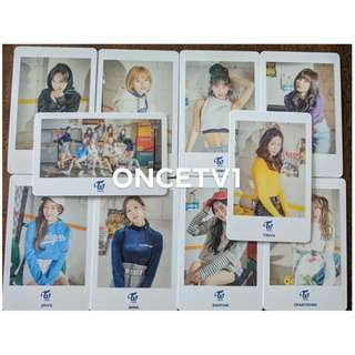 TWICE Photocards from TWICELAND Fantasy Park in Japan (Saitama Tokyo Concert)