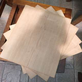 Compressed Particle Board