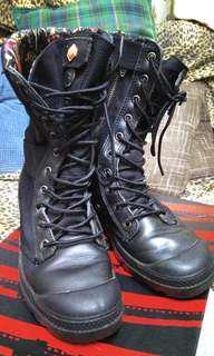 Palladium 女裝高筒鞋 size 37