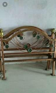 Ranjang besi single bed free ongkir✔