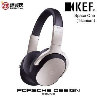 KEF Space One頭戴式Hi-Fi耳機 (鈦金灰)