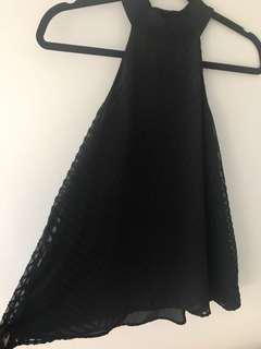 BARDOT High Neck Top (Size 8)