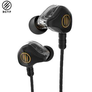 BGVP DS1 earphones (Quad drivers) w/ mic!