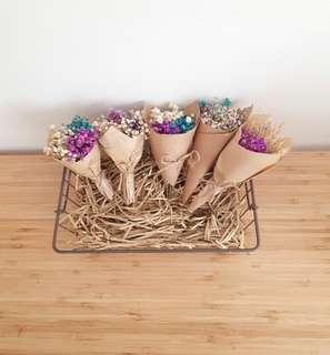 Mini Dried Baby Breath Bouquet