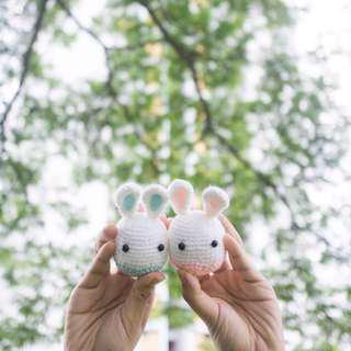 Easter Bunnies Amigurumi